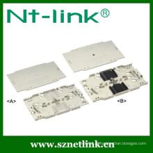 Bandeja para embreagem de 24 furos de fibra óptica