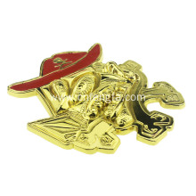 hot sale durable doll shape belt buckle