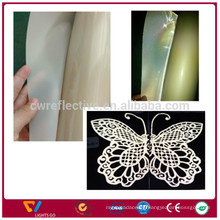 transparent heat transfer reflective film/glass beads film/reflective printing film