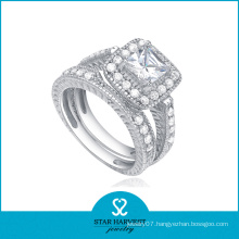 Fashion Costume Sterling Silver CZ Ring (SH-R0136)