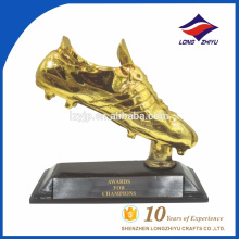 Golden sport trophy, award trophy, souvenir gift trophy