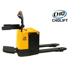 High Efficiency Factory for Ride-On Pallet Truck 2T battery powered Pallet Truck with platform export to Haiti Suppliers