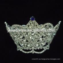 Coronas de diamante de imitación coronas coronas de la boda coronas, miss mundo tiaras