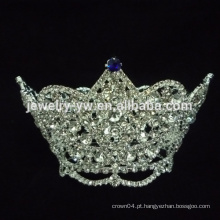 Rhinestone coroas coroas de desfile coroas de casamento, senhorita mundo tiaras
