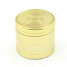 50mm four-layer super gold cheap grinder smoking accessories