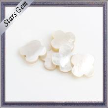 Мода Фантастический Белый Природного Оболочки Драгоценного Камня Semi