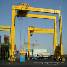 Rubber Tyre Quayside Container Gantry Crane