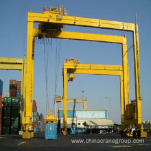 Leading for Container Handling Crane Rubber Tyre Quayside Container Gantry Crane export to New Zealand Supplier