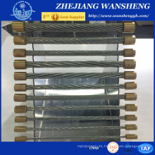 Alambre de acero galvanizado 7 / 3.25mm del individuo De China Supplier