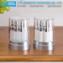 QB-ES07 7 ml x 6 eliquids cuidado cuidado de la piel facial esencial aceite de pelo recogido pe botellas de plástico con gotero