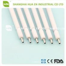 Conseils en seringues en métal à usage unique métallique à air comprimé à 3 voies avec noyau métallique