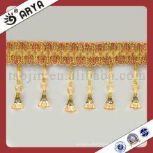 Rideau avec gomme en frange décoration rideaux en plastique garnitures