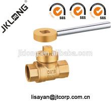 J2043 Brass Magnetic Lockable Ball Valve