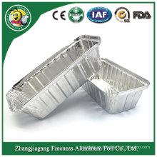Bandeja desechable de la hoja de Containeraluminum del papel de aluminio para hornear de la torta