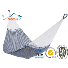 Colorful Cotton Rope Outdoor Camping Hammock on Tree