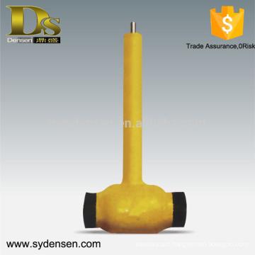 Stainless steel 2 inch float ball valve