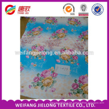 Tejido de poliéster recubierto de algodón tejido para sábana en weifang