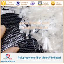 Fibre de polypropylène de PP de haute qualité de fibre de polypropylène