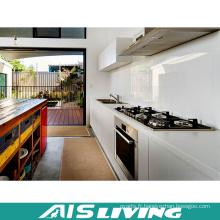 Laque faite sur commande avec des meubles de placards de cuisine de quartz (AIS-K205)