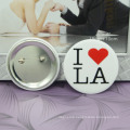 Cheap Blank Tinplate Button Pins Material Wholesale Custom Badge Buttons/Button Badge