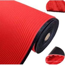 Tapis à rayures en nylon professionnel avec tapis