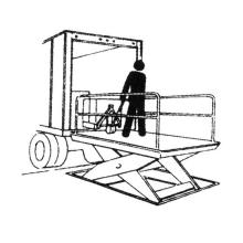 Table élévatrice manuelle de ciseaux de laboratoire la plus fiable de capacité de chargement 1000kg