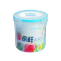 1200 ml Plastic Food Container Round Shape Tall