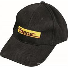 Noir de casquette de baseball avec l'OEM d'équipement de gymnastique de logo de Forge
