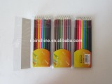 24pcs coloring pencils , OEM professional wood artist color pencils set