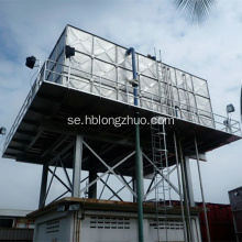 Square Modular 100m3 Galvanized Steel Water Storage Tank