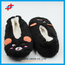 Winter Indoor Warm Anti-slip Cute Animals Slipper Boots for wholesale