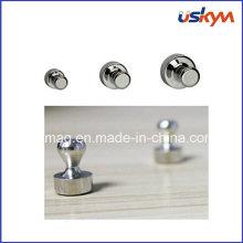 Botón magnético del Pin del tamaño del tamaño modificado para requisitos particulares