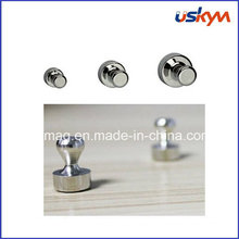 Customized Size Metal Magnetic Push Pin