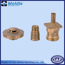 Partie d'usinage par cuivre CNC pour système propre