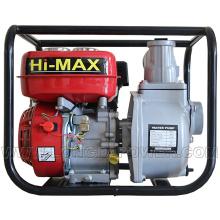 Pompe à eau de kérosène de l'essence 3inch, pompe à eau d'irrigation agricole 6.5HP