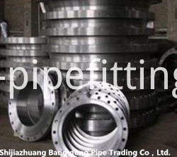 large diameter weld neck flange