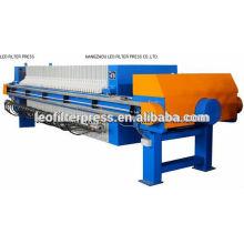 Filtro de membrana de filtro de aceite automático de la prensa de filtro
