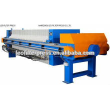 Automatic Palm Oil Filtering Membrane Filter Press