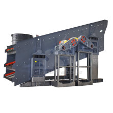 Heavy Duty Vibrating Screen with 100 Tons Per Hour