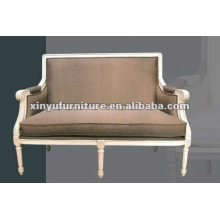 white antique french sofa XDS1210