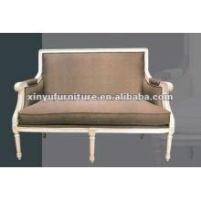 Белый античный французский диван XDS1210