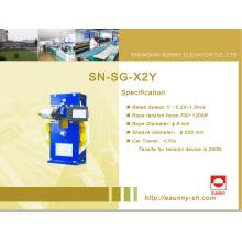 Ascensor sobre gobernador de velocidad (SN-SG-X2Y)