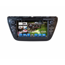 Dashboard placement and 8 inch screen size android car multimedia for suzuki crossover , Sx4 2013
