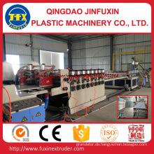 PVC-Bau-Krusten-Schaum-Platte, die Maschine herstellt