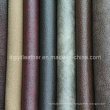 Fashion Design Breathable PU Furniture Leather (QDL-FB0034)