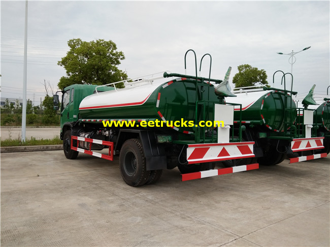 5 Ton Water Sprinkler Vehicles