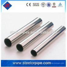 Alta luz frio desenhado pequeno tubo de aço de precisão feita na China
