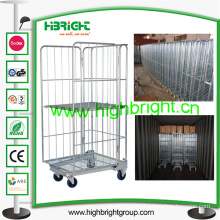 500kgs Steel Roller Wire Container