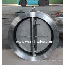 CF8m Dual Plate Wafer Type Check Valve