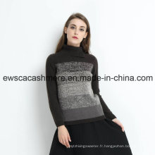 Rainbow Like Women Turtle Neck - Pull 100% cachemire